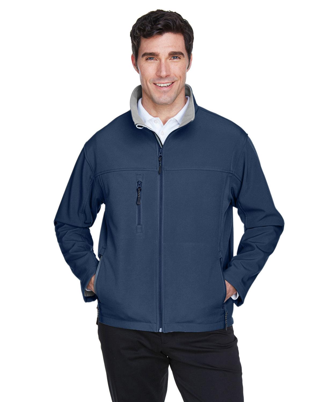 Devon & Jones Men's Soft Shell Jacket NAVY
