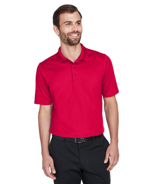 Devon & Jones CrownLux Performance™ Men's Tall Plaited Polo RED