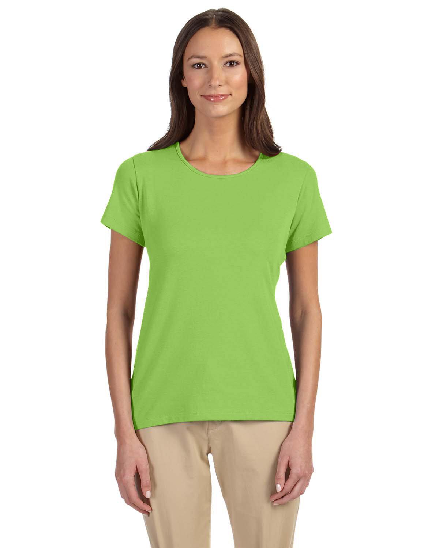 Devon & Jones Ladies' Perfect Fit™ Shell T-Shirt LIME