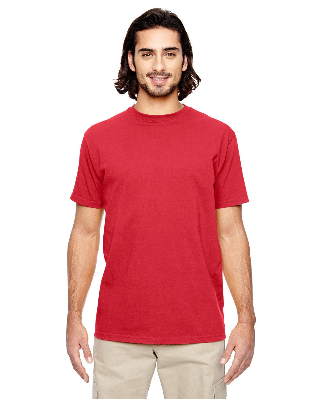 econscious Men's 100% Organic Cotton Classic Short-Sleeve T-Shirt RED PEPPER