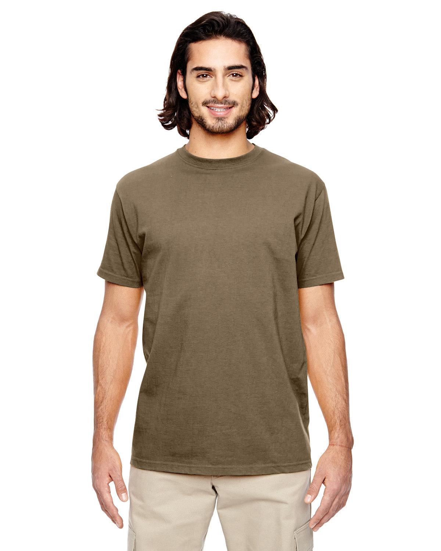 econscious Men's 100% Organic Cotton Classic Short-Sleeve T-Shirt METEORITE