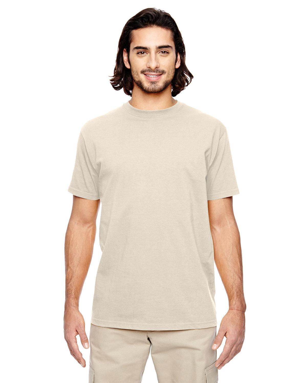 econscious Men's 100% Organic Cotton Classic Short-Sleeve T-Shirt NATURAL