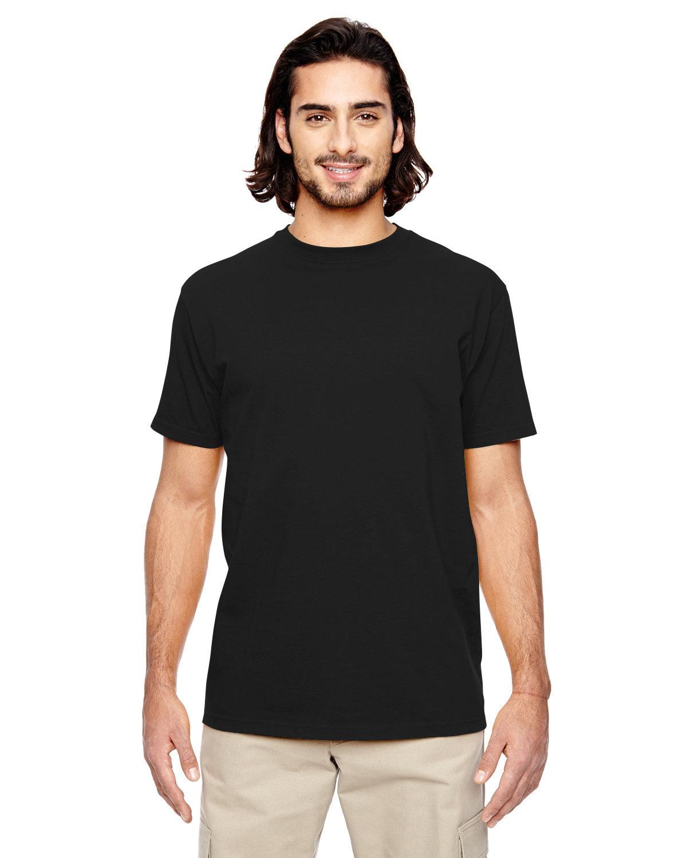econscious Men's 100% Organic Cotton Classic Short-Sleeve T-Shirt BLACK