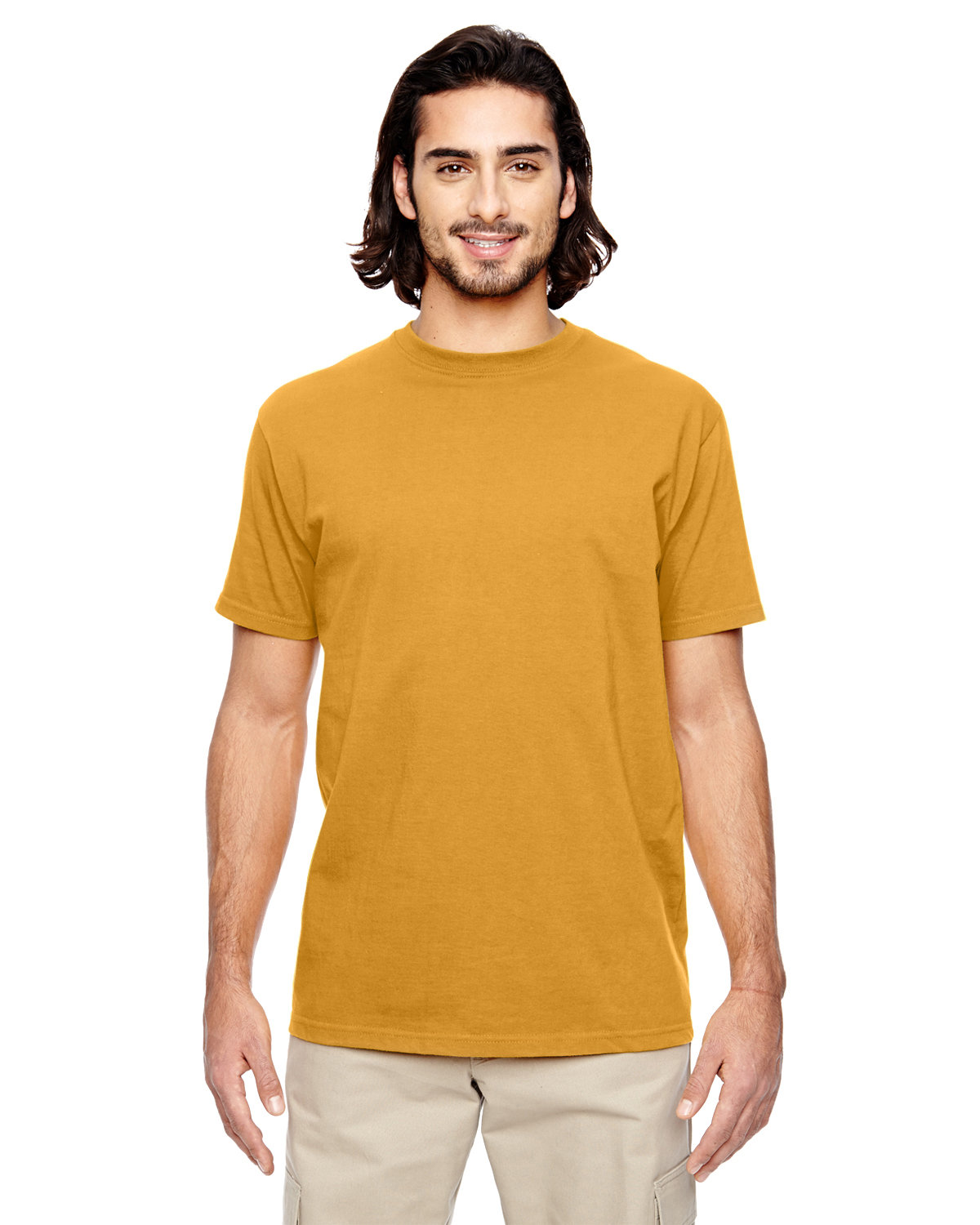 econscious Men's 100% Organic Cotton Classic Short-Sleeve T-Shirt BEEHIVE