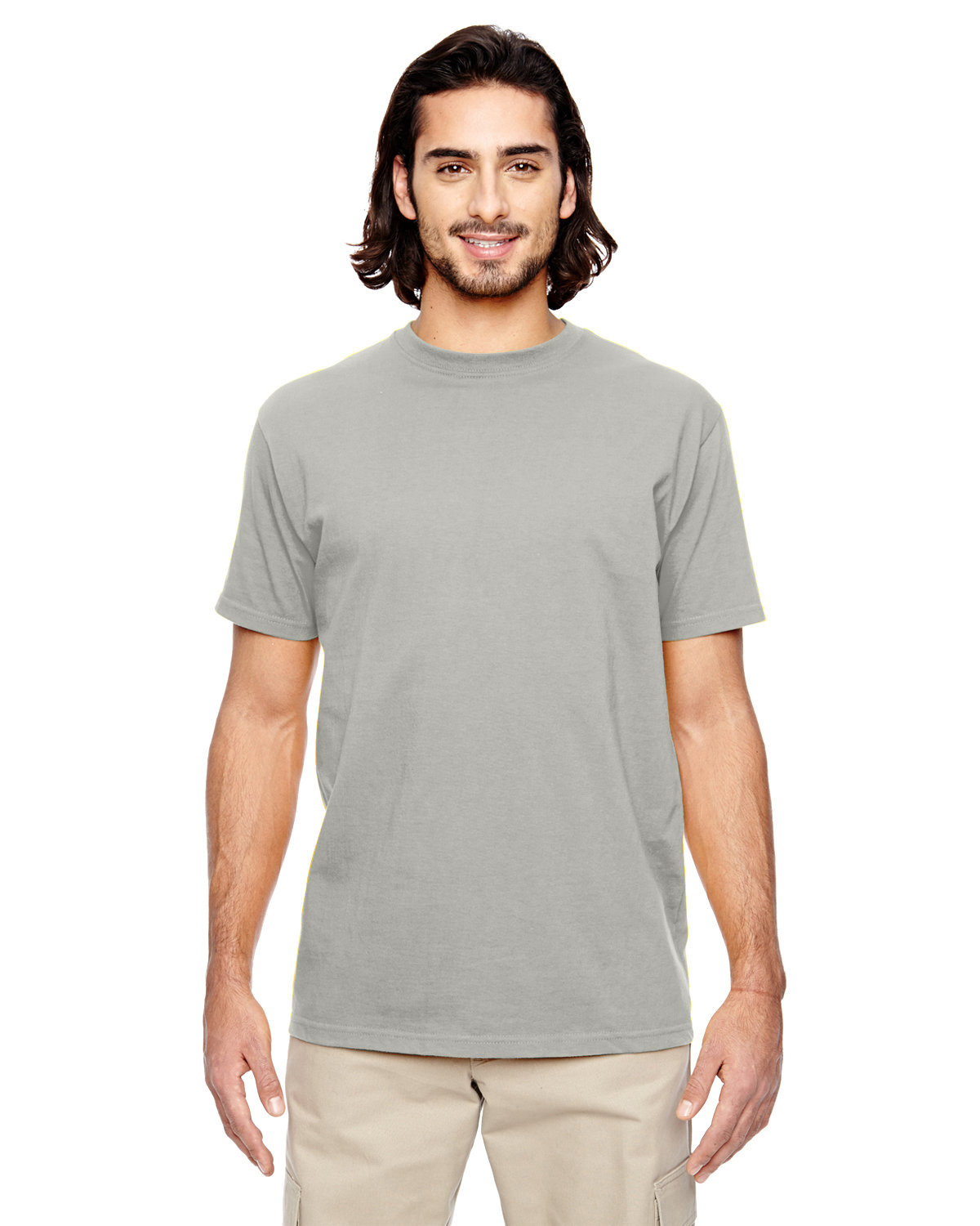 econscious Men's 100% Organic Cotton Classic Short-Sleeve T-Shirt DOLPHIN