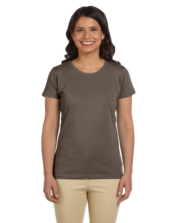 econscious Ladies' 100% Organic Cotton Classic Short-Sleeve T-Shirt METEORITE