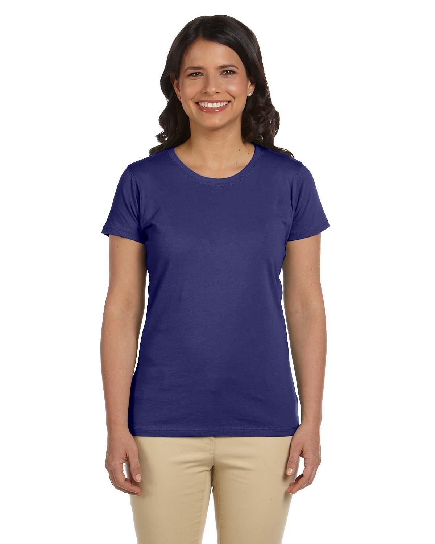 econscious Ladies' 100% Organic Cotton Classic Short-Sleeve T-Shirt IRIS