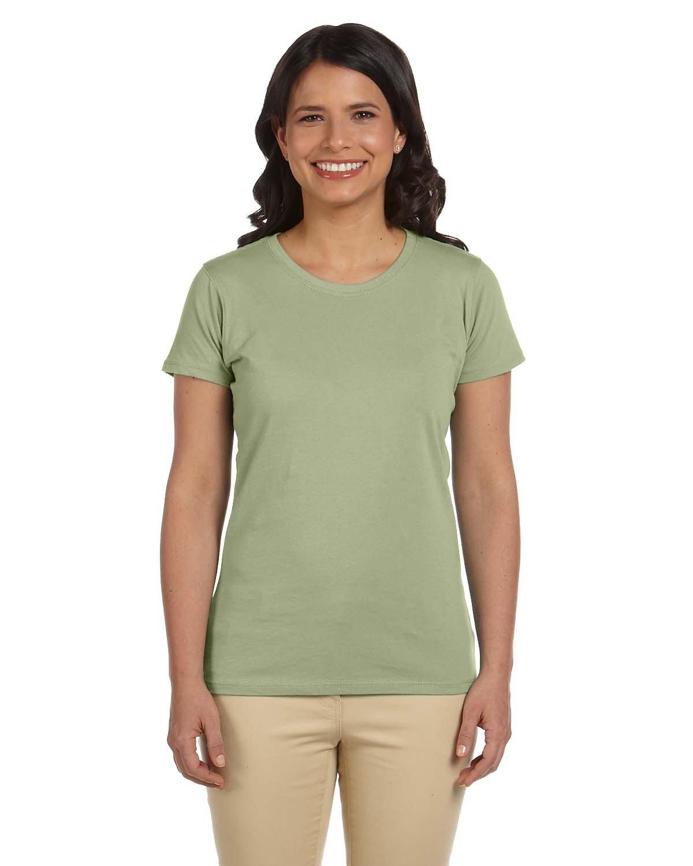 econscious Ladies' 100% Organic Cotton Classic Short-Sleeve T-Shirt WASABI