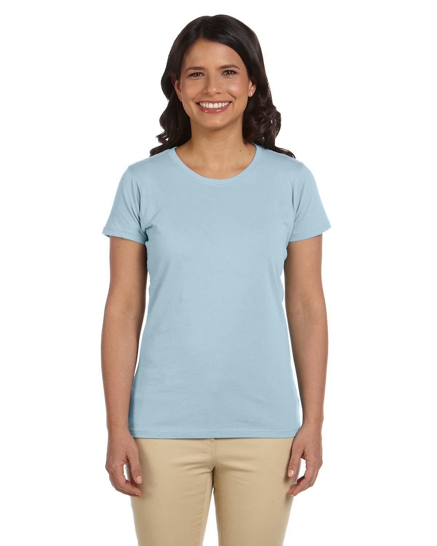 econscious Ladies' 100% Organic Cotton Classic Short-Sleeve T-Shirt SKY