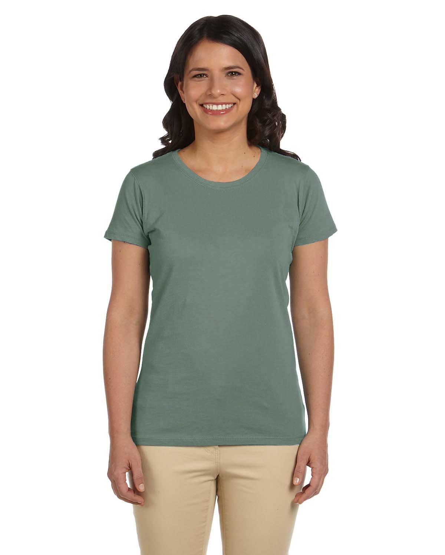 econscious Ladies' 100% Organic Cotton Classic Short-Sleeve T-Shirt BLUE SAGE