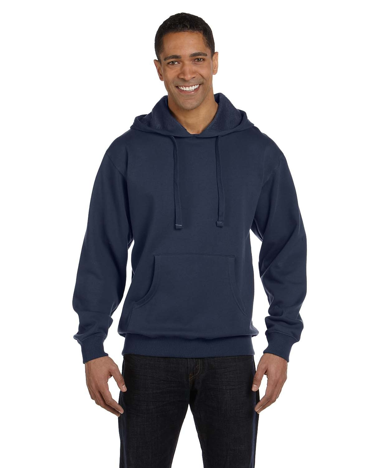 econscious Adult Organic/Recycled Pullover Hooded Sweatshirt PACIFIC