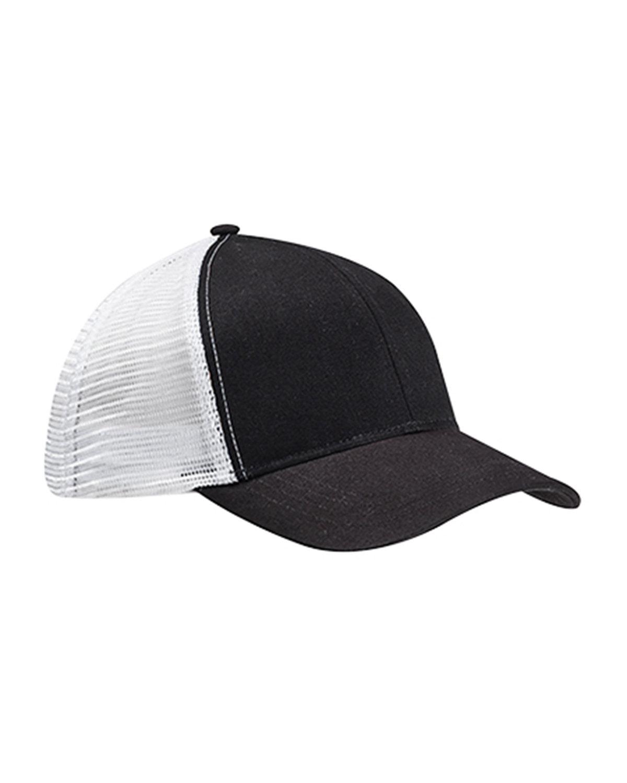 econscious Eco Trucker Organic/Recycled Hat BLACK/ WHITE