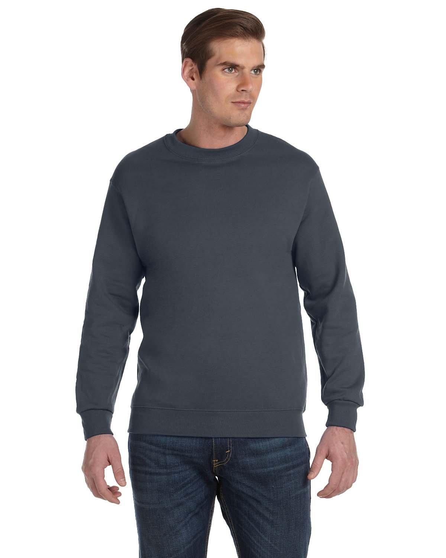 Gildan Adult DryBlend® Adult 50/50 Fleece Crew CHARCOAL