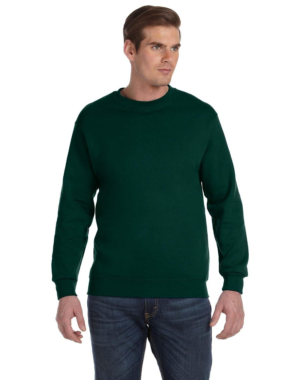Gildan Adult DryBlend® Adult 50/50 Fleece Crew FOREST GREEN