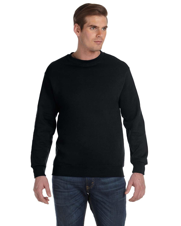Gildan Adult DryBlend® Adult 50/50 Fleece Crew BLACK