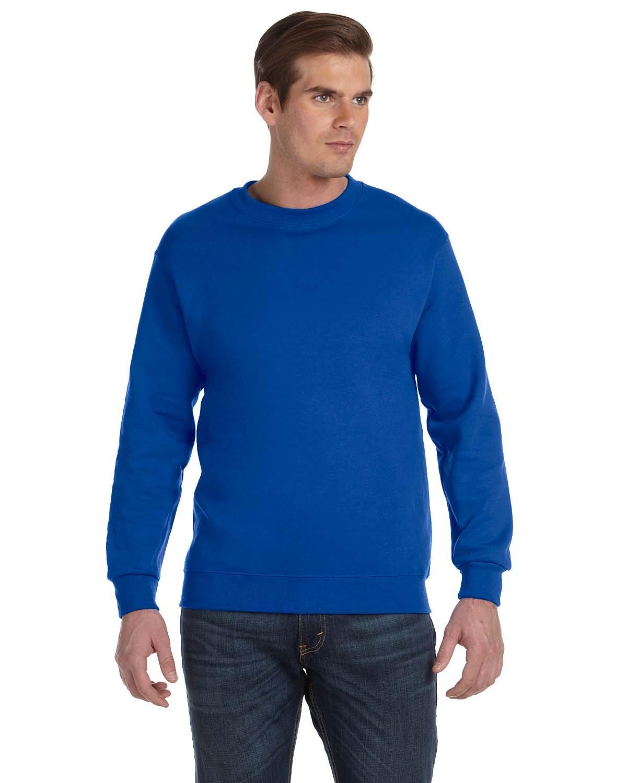 Gildan Adult DryBlend® Adult 50/50 Fleece Crew ROYAL
