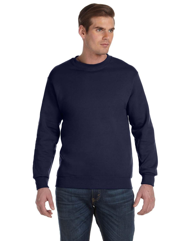Gildan Adult DryBlend® Adult 50/50 Fleece Crew NAVY