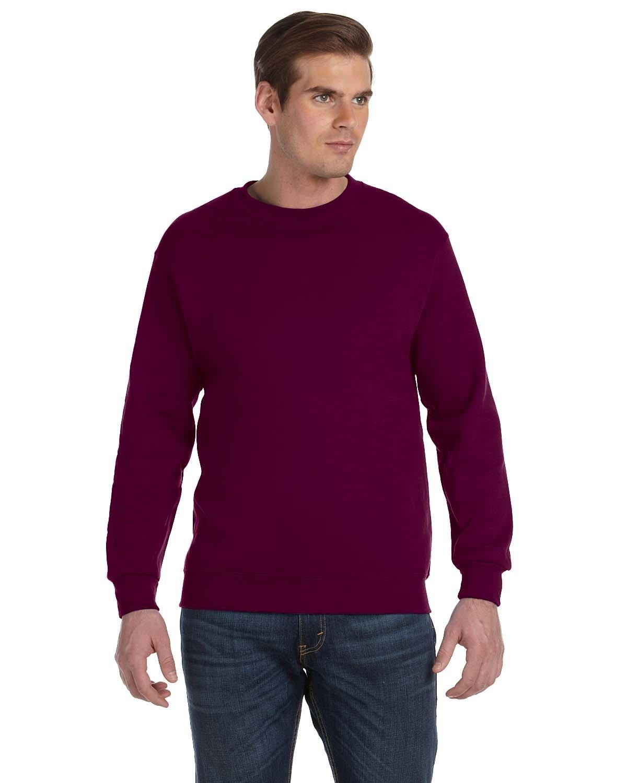 Gildan Adult DryBlend® Adult 50/50 Fleece Crew MAROON