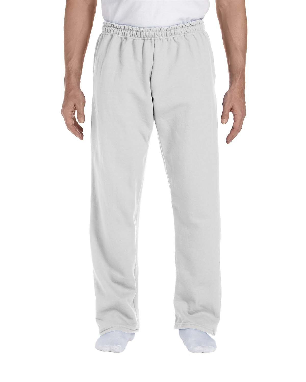 Gildan Adult DryBlend® Adult 9 oz., 50/50Open-Bottom Sweatpants ASH