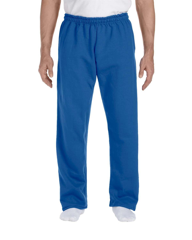 Gildan Adult DryBlend® Adult 9 oz., 50/50Open-Bottom Sweatpants ROYAL