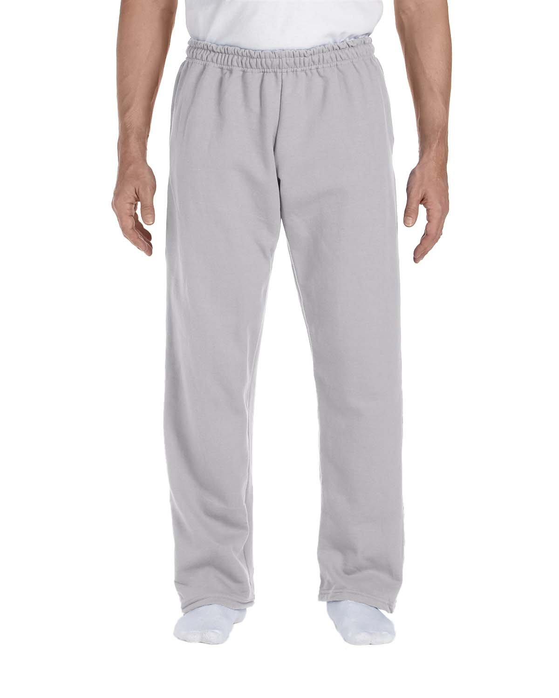 Gildan Adult DryBlend® Adult 9 oz., 50/50Open-Bottom Sweatpants SPORT GREY