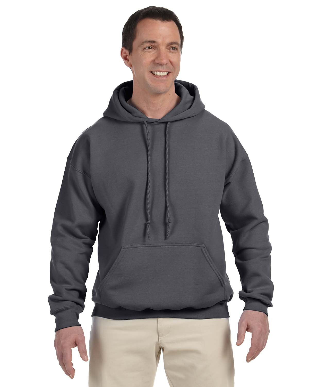 Gildan Adult DryBlend® Adult 50/50 Hooded Sweatshirt CHARCOAL