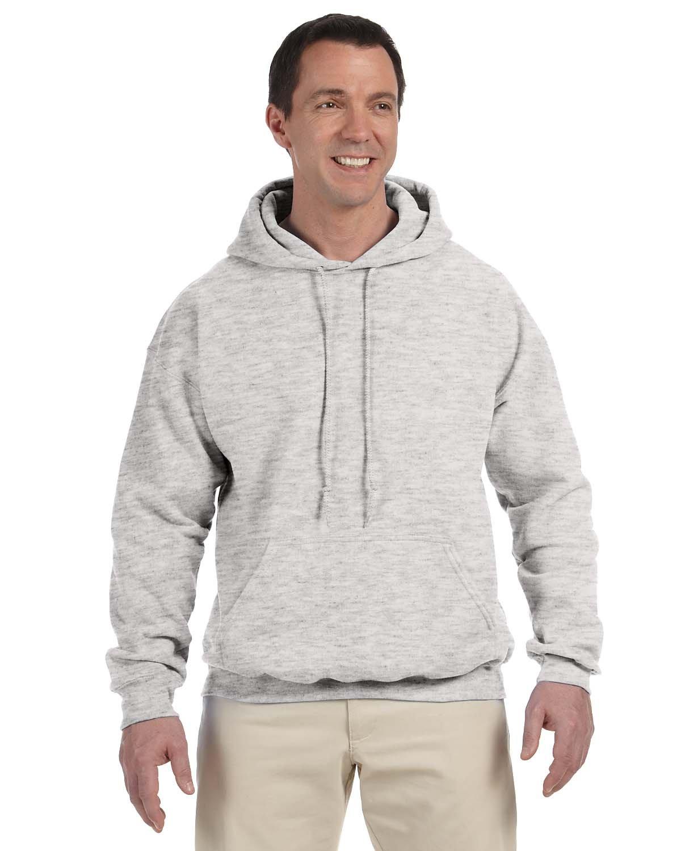 Gildan Adult DryBlend® Adult 50/50 Hooded Sweatshirt ASH GREY