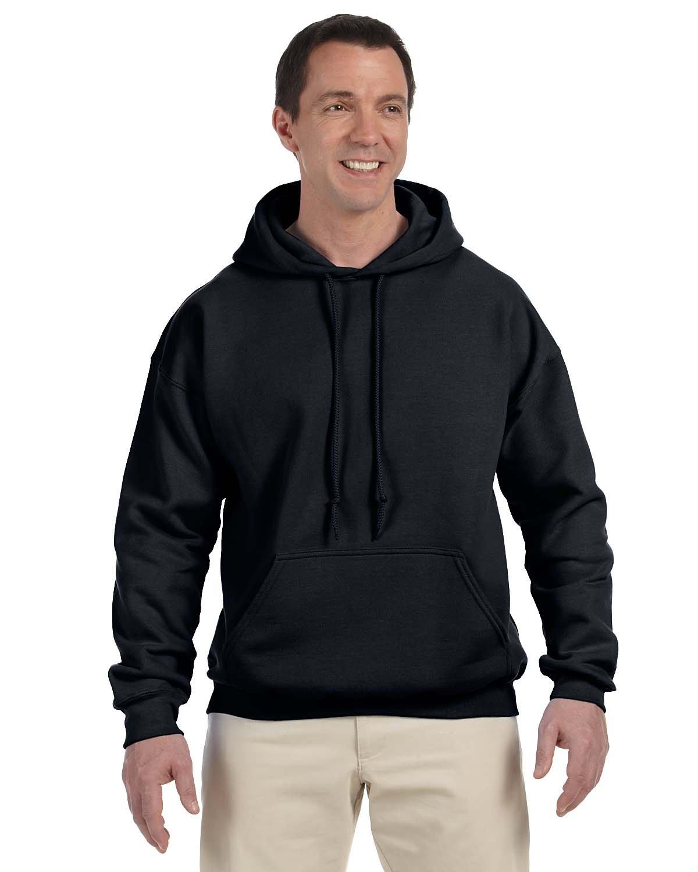 Gildan Adult DryBlend® Adult 50/50 Hooded Sweatshirt BLACK