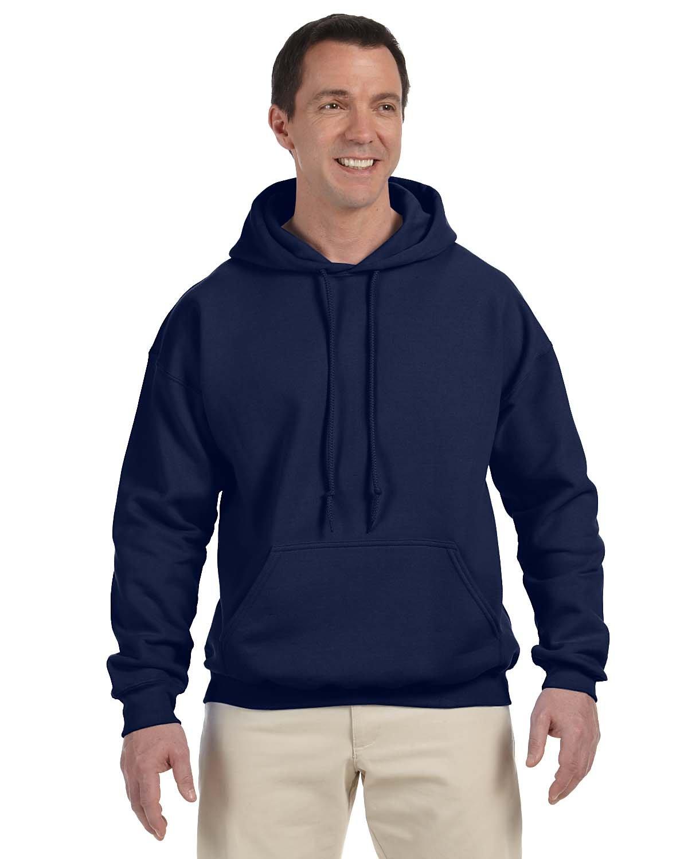 Gildan Adult DryBlend® Adult 50/50 Hooded Sweatshirt NAVY