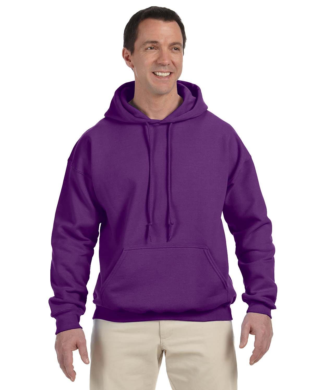 Gildan Adult DryBlend® Adult 50/50 Hooded Sweatshirt PURPLE