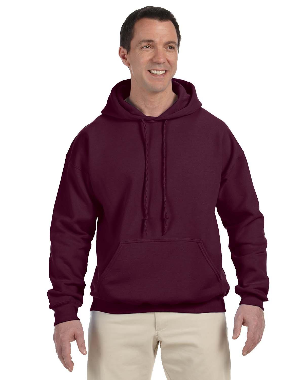 Gildan Adult DryBlend® Adult 50/50 Hooded Sweatshirt MAROON