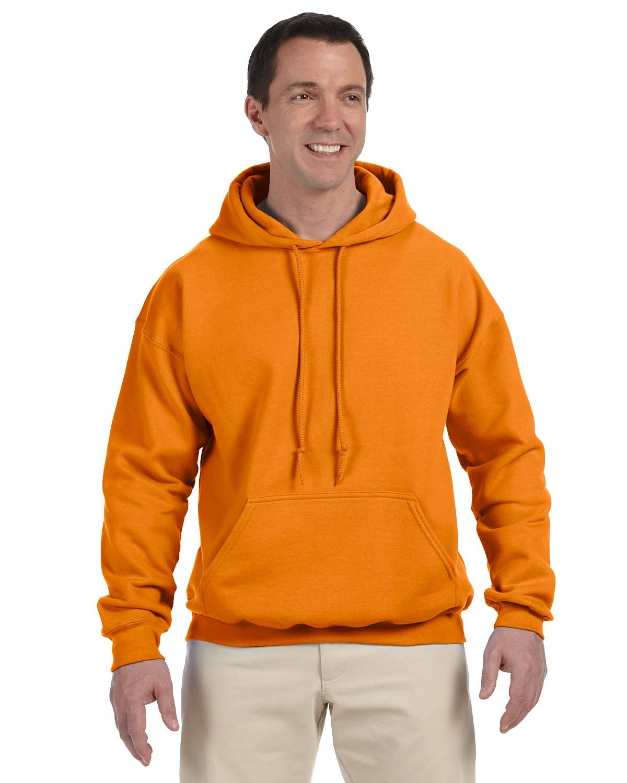 Gildan Adult DryBlend® Adult 50/50 Hooded Sweatshirt S ORANGE