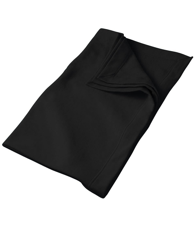 Gildan DryBlend® Fleece Stadium Blanket BLACK