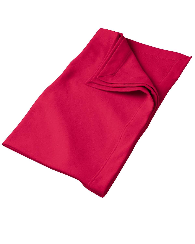 Gildan DryBlend® Fleece Stadium Blanket RED