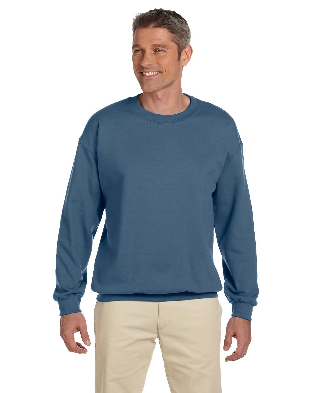 Gildan Adult Heavy Blend™  50/50 Fleece Crew INDIGO BLUE