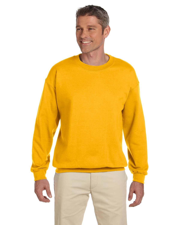 Gildan Adult Heavy Blend™ 50/50 Fleece Crew GOLD