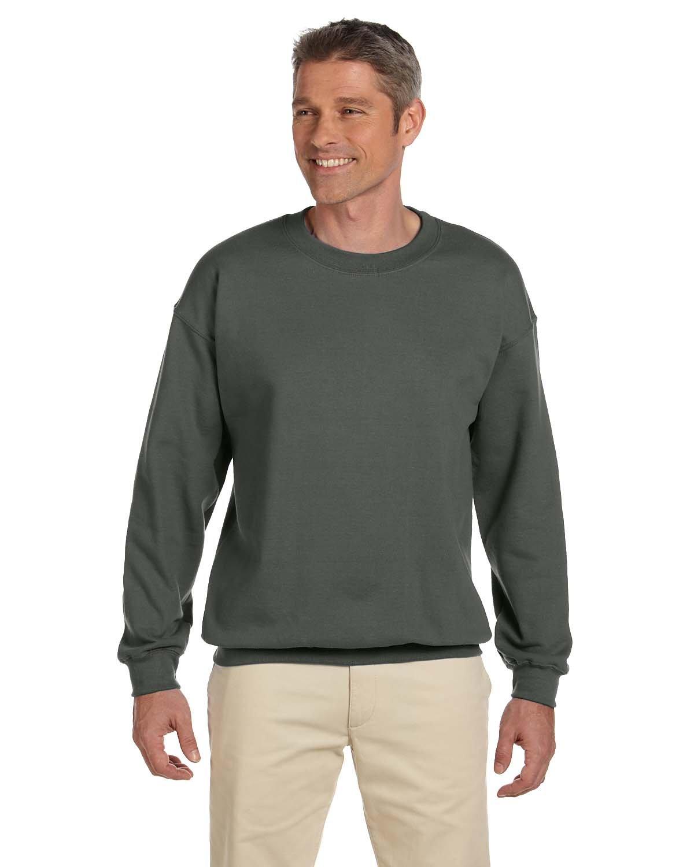 Gildan Adult Heavy Blend™  50/50 Fleece Crew MILITARY GREEN
