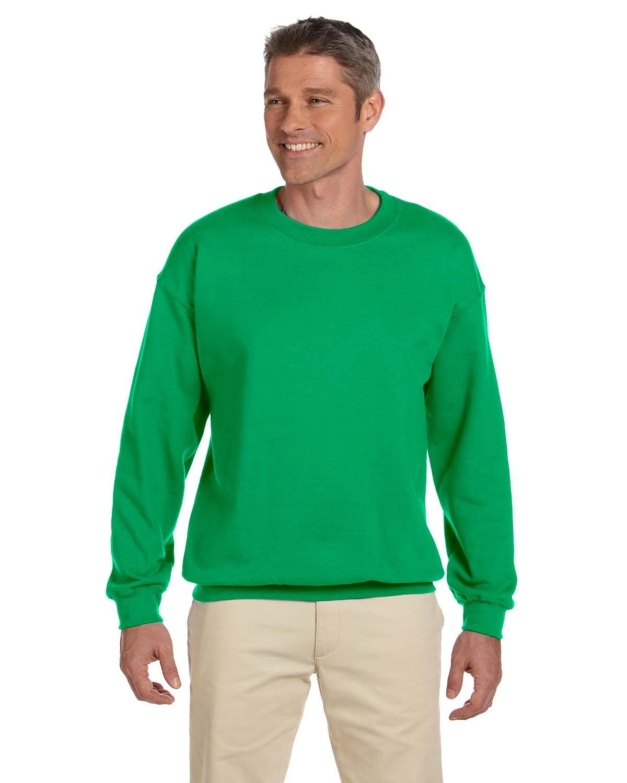Gildan Adult Heavy Blend™  50/50 Fleece Crew IRISH GREEN