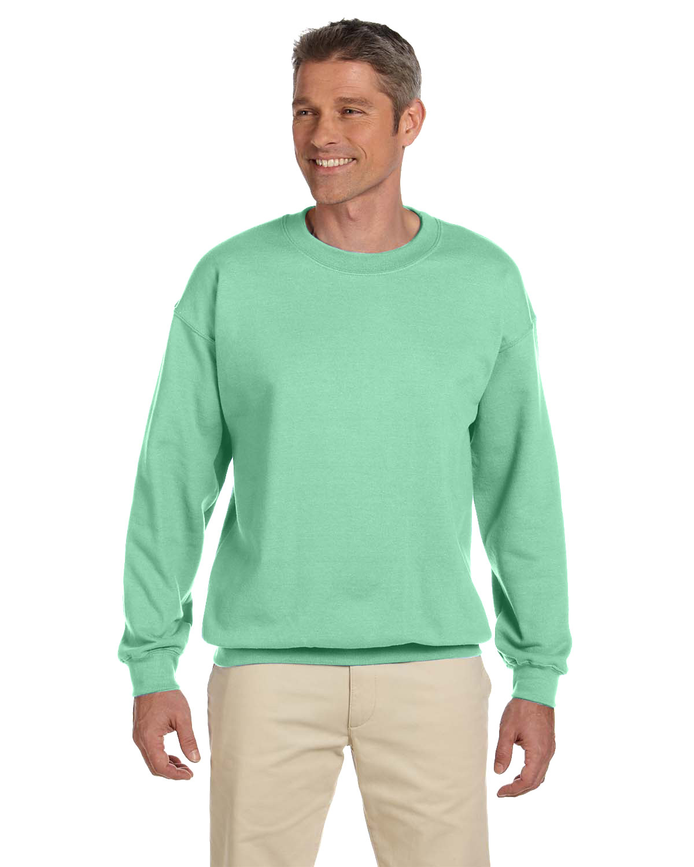 Gildan Adult Heavy Blend™  50/50 Fleece Crew MINT GREEN
