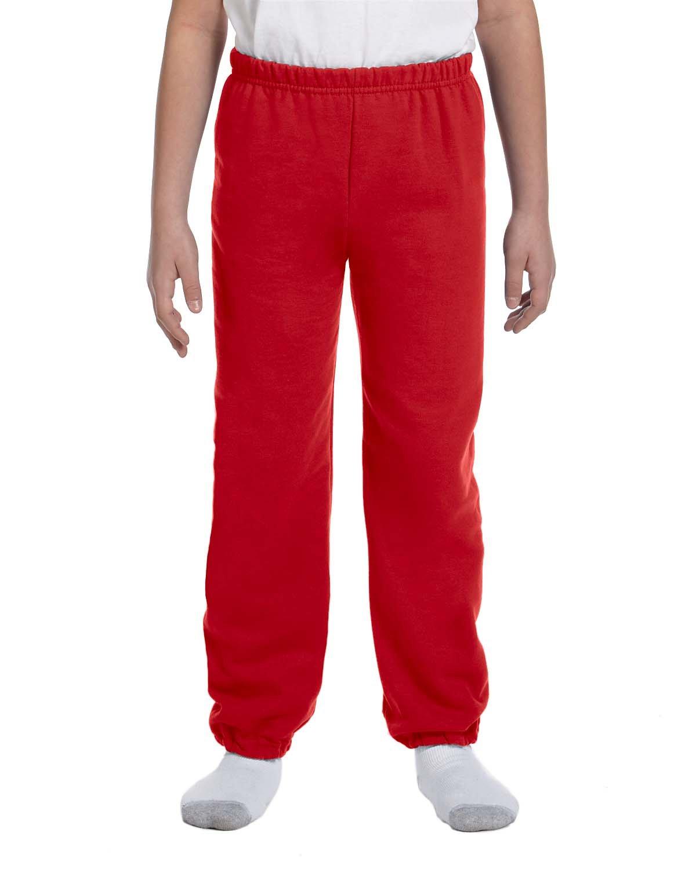 Gildan Youth Heavy Blend™ 50/50 Sweatpant RED