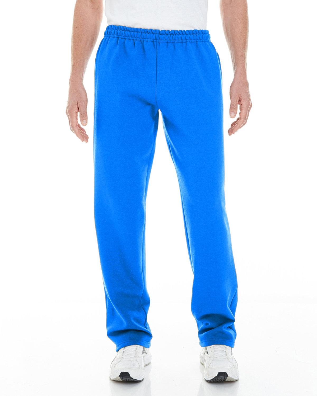 Gildan Adult Heavy Blend™ Adult 8 oz. Open-Bottom Sweatpants with Pockets ROYAL