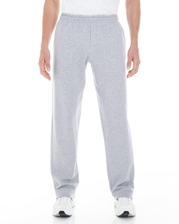 Gildan Adult Heavy Blend™ Adult 8 oz. Open-Bottom Sweatpants with Pockets SPORT GREY