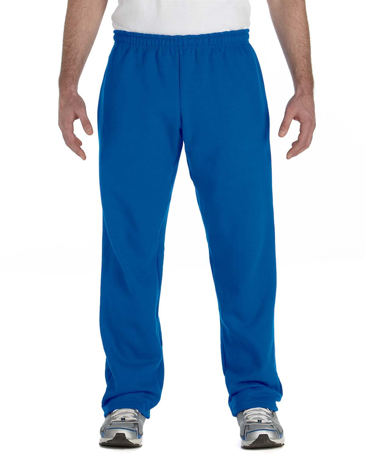 Gildan Adult Heavy Blend™ Adult 50/50 Open-Bottom Sweatpants ROYAL