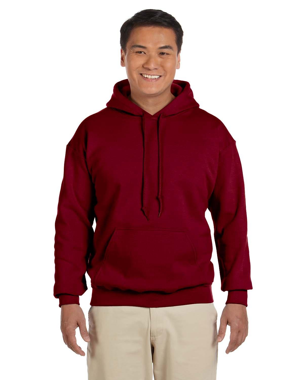 Gildan Adult Heavy Blend™ 50/50 Hooded Sweatshirt GARNET