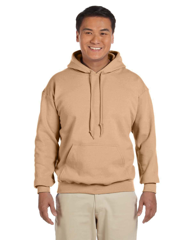 Gildan Adult Heavy Blend™ 50/50 Hooded Sweatshirt OLD GOLD