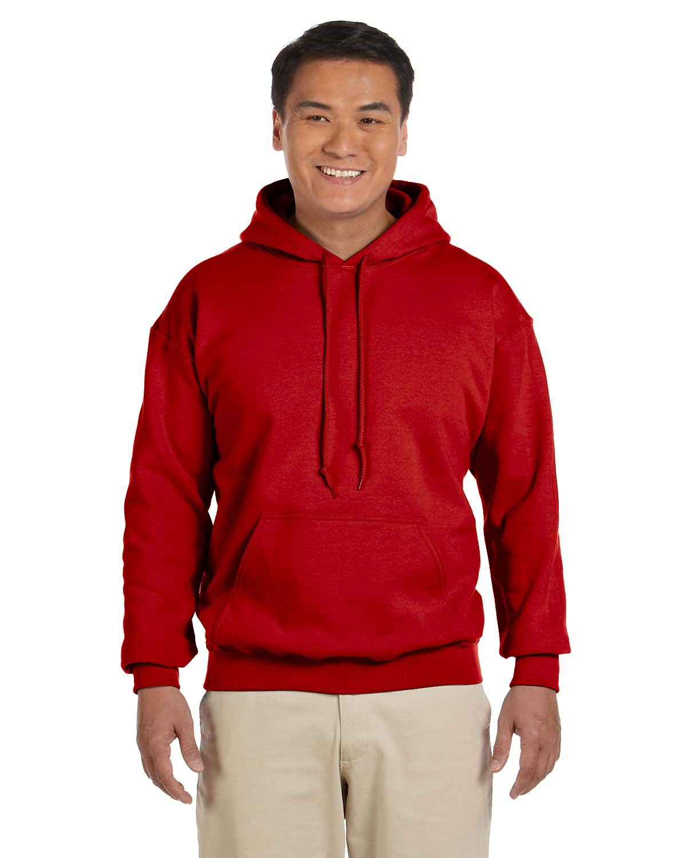 Gildan Adult Heavy Blend™ 50/50 Hooded Sweatshirt RED