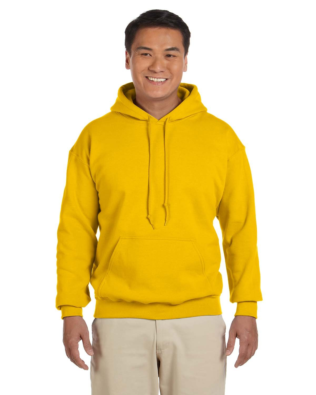 Gildan Adult Heavy Blend™ 50/50 Hooded Sweatshirt GOLD