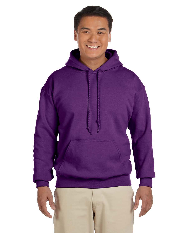 Gildan Adult Heavy Blend™ 50/50 Hooded Sweatshirt PURPLE