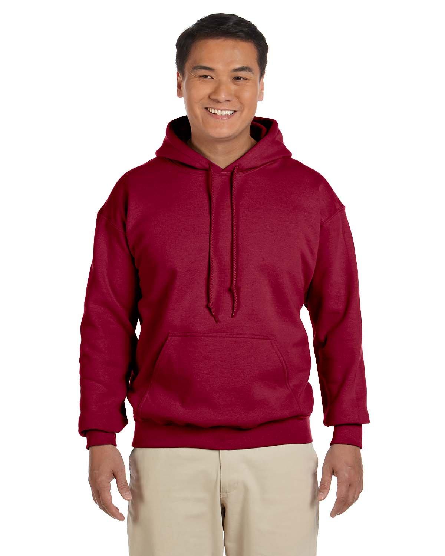 Gildan Adult Heavy Blend™ 50/50 Hooded Sweatshirt CARDINAL RED