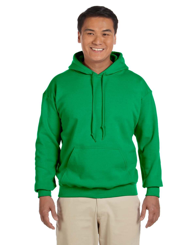 Gildan Adult Heavy Blend™ 50/50 Hooded Sweatshirt IRISH GREEN